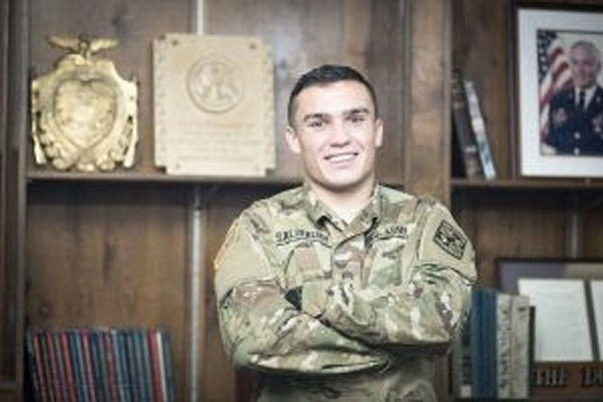 Salisbury earned an Army ROTC scholarship after his freshman year in the program.