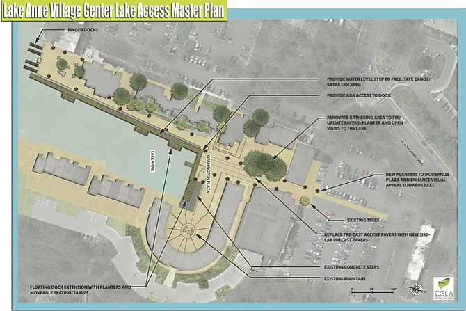 LARCA presented this rendering to the Reston Association last fall. The RA Board of Directors will be discussing these recommendations this week.
