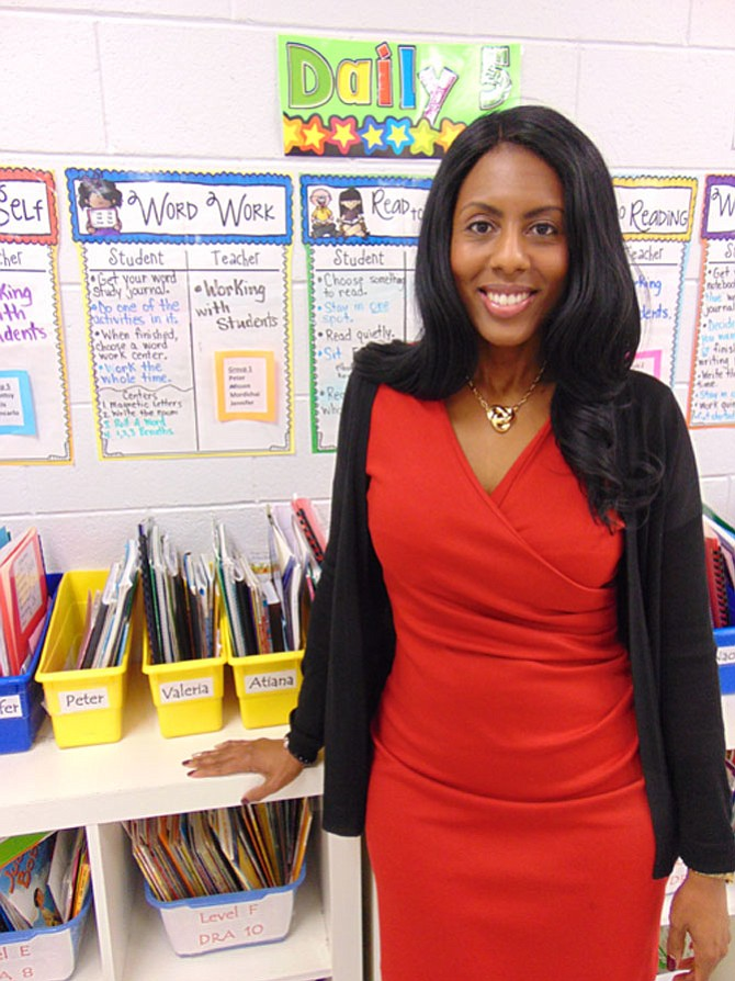 LaRonda Peterson was named principal of Bucknell Elementary School on Nov. 7, 2016.