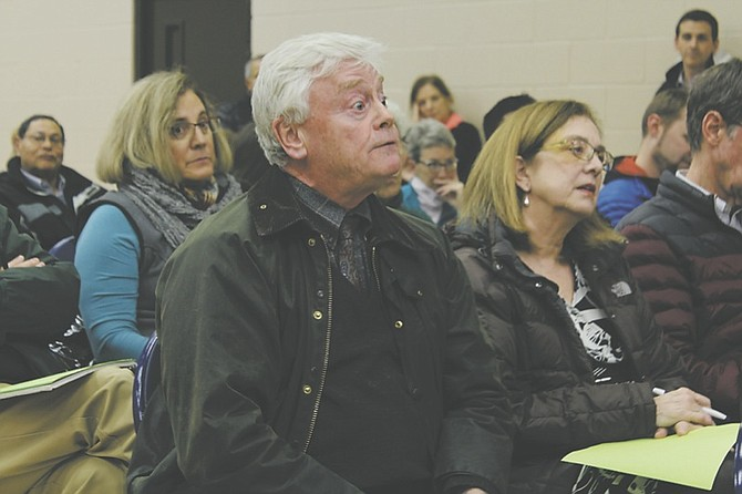 """Mike Weatherbee, who does not support the proposal, asked Corbett if he received financial incentive or landscaping deals in exchange for his support of the proposal. Corbett answered by saying, """"No, that would be illegal."""""""
