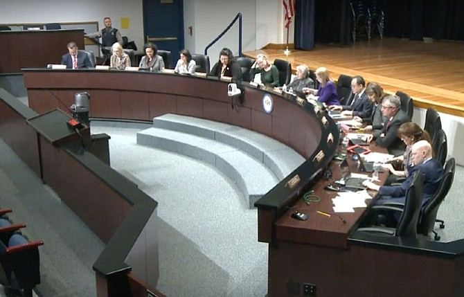 The FCPS School Board unanimously approved a new Capital Improvement Program covering FY2018-2022 at its business meeting Jan. 26. The five-year program is updated annually with enrollment projections and capacity calculations, and lays out plans for new construction, renovations and other capacity-increasing work to accommodate the growing student body.