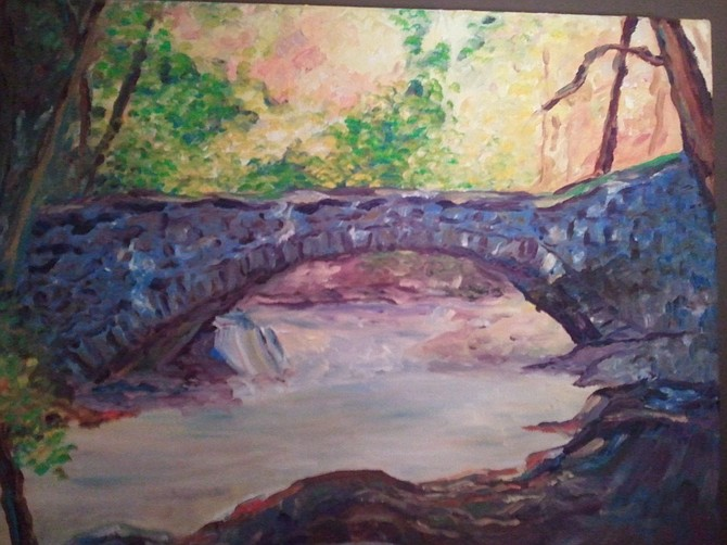 Bridge, by Donna Mosely.