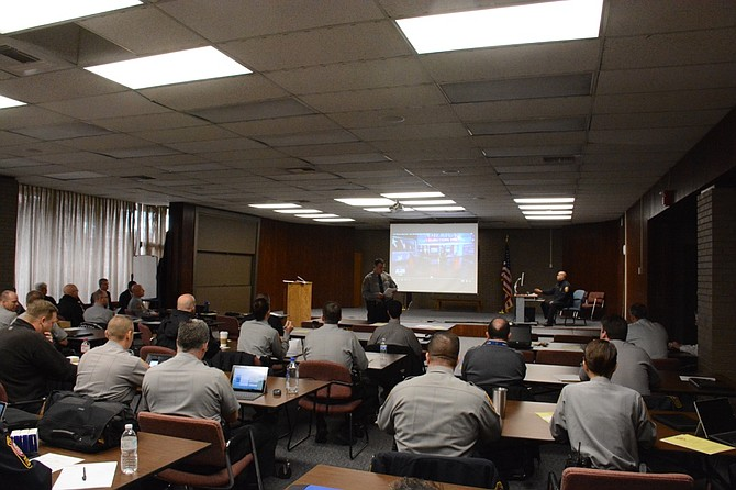 """Fairfax County police commanders receive diversity training as part of a monthly meeting normally off-limits to the public and media. On this occasion, however, Chief of Police Edwin Roessler wanted to include eyes from the outside as he continues to """"re-engineer"""" the force in terms of community engagement, transparency and accountability."""