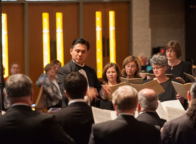The Reston Chorale Associate Director Allan Laino will conduct Camerata in concert on Sunday, Feb. 12, at 4 p.m. in the CenterStage.