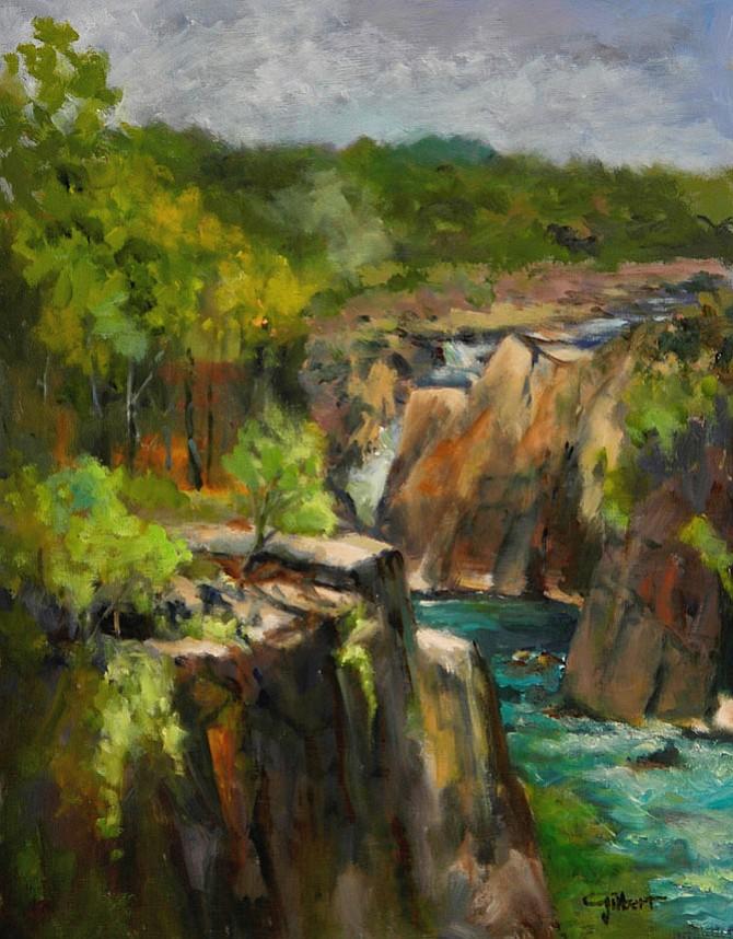 Cliffs at the Falls, by Robert Gilbert