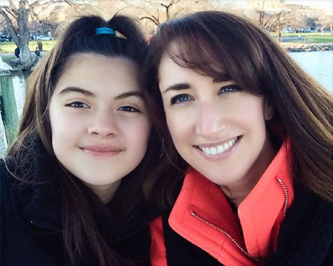 Elodie Guillen and Rebecca
