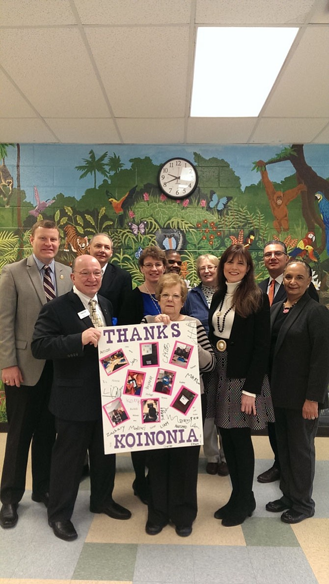 The Koinonia Foundation donated 18 Apple iPads to the Key Center School in Springfield on Feb. 16.