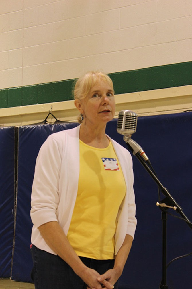 Alane Dashner of Great Falls asked how the Republican administration planned to pay for the replacement of the Affordable Care Act.
