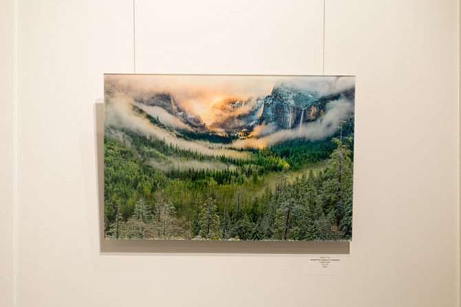 "1st place winner, ""Serpentine Vapors at Yosemite"" by William Toti."
