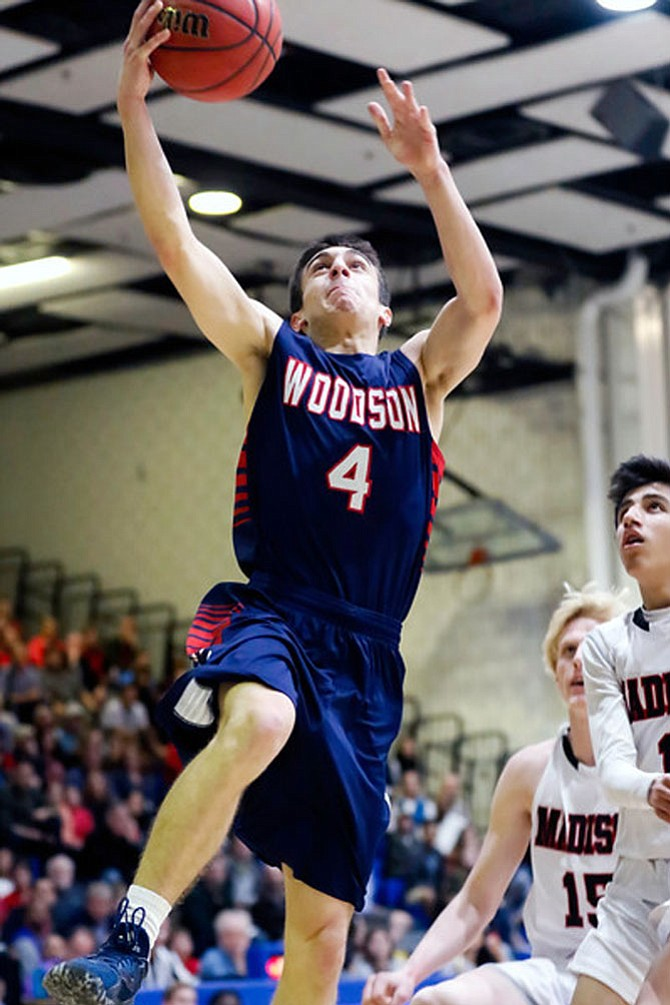 Woodson's David Promisel scored 11 points for the WT Woodson Cavaliers.