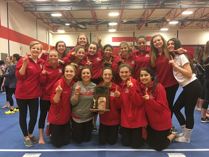 """McNastics"" Celebrates Second State Title"