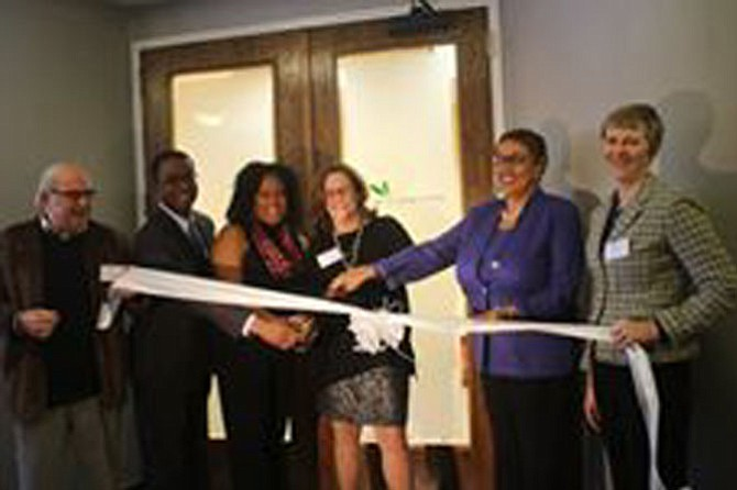 The ribbon cutting for Hope Connection's second site, located in Prince George's County.