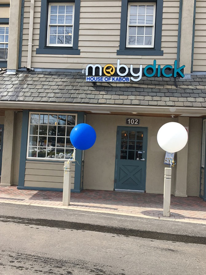 Moby Dick House of Kabob opened March 15 in Potomac Village.