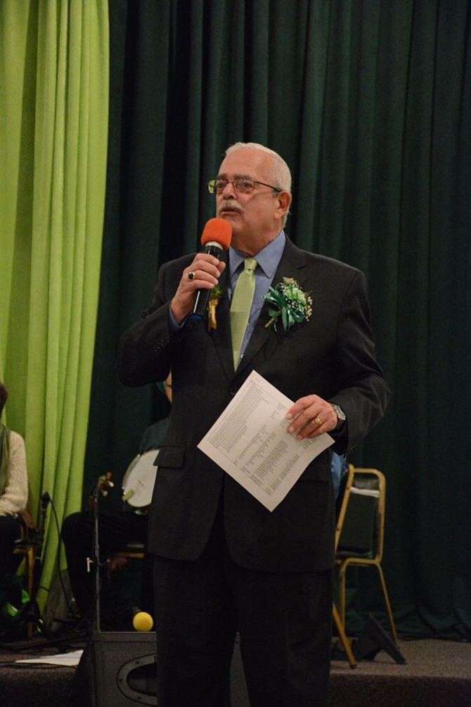 U.S. Rep. Gerry Connolly (D-11) held his 23rd annual St. Patrick's Day Fete and Democratic rally on March 17 at the Fairfax Kena Shriners' Temple.