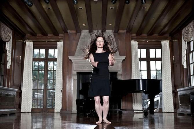 'Sacred Profane,' Erica Rebollar in performance.