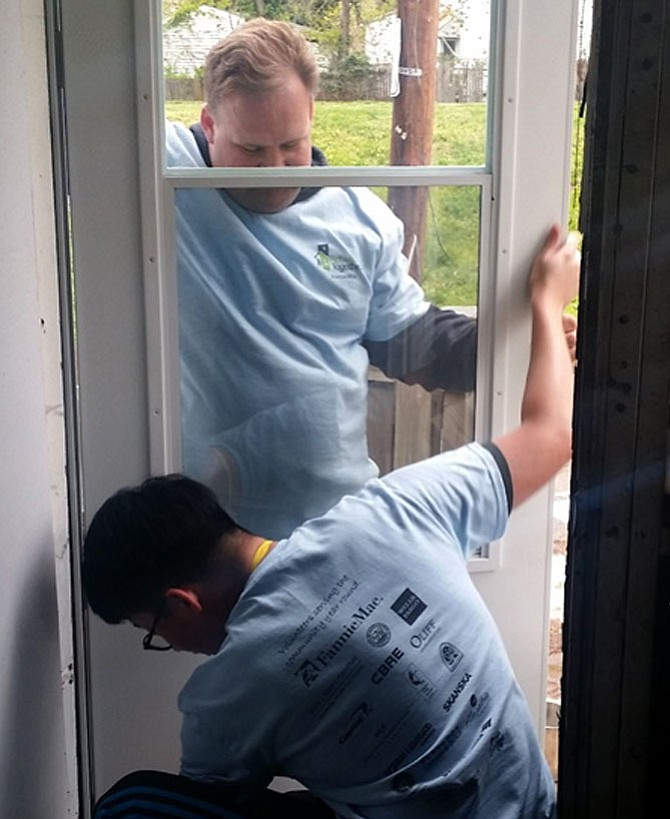 Rebuilding Together Alexandria provides a variety of free repairs to help residents live in their homes.