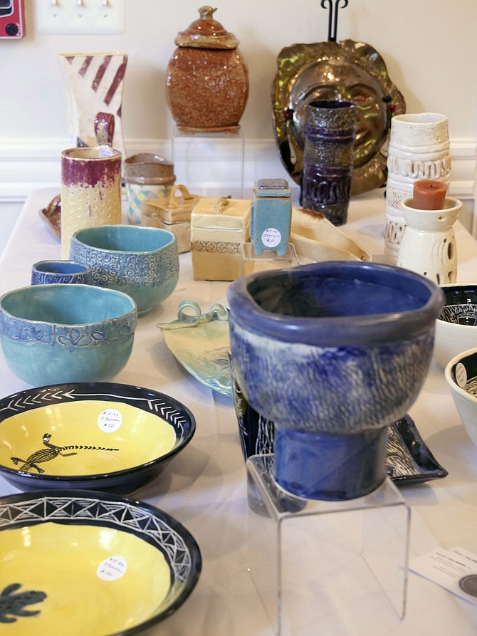 Watercolor paintings, sculpture, oils and pottery are on display in the Historic Hendry House located on the grounds of Fort C.F. Smith at 2411 N. 24th Street. This art show and sale is part of a week full of art including free workshops.