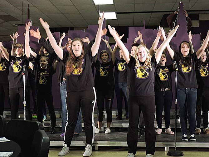 For the third year, members of Lake Braddock Secondary School's five choirs will perform one Broadway hit after another, in solo, duet, ensemble or full group settings.