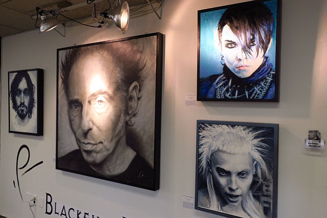 Doug Stern's artwork.