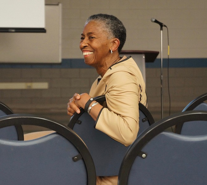 Fairfax County Supervisor Cathy Hudgins (D-Hunter Mill) said she would have liked to see a larger crowd at the meeting, but sometimes a smaller group makes it easier to make connections.
