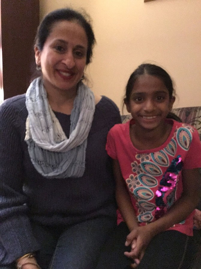 While Vienna mom Suneeta Rana sees secure futures in science and technology careers, her daughter, Westbriar ES third-grader Renuka Rana, sees fun.