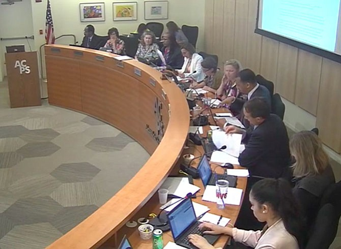 School Board considers proposed joint City-Schools capital planning task force at April 27 meeting.
