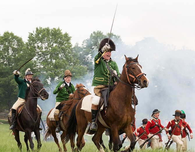 Over the weekend, May 6-7, George Washington's Mount Vernon is turning into a military encampment from the Revolutionary War period. Look in calendar for more activities in Alexandria and Mount Vernon.