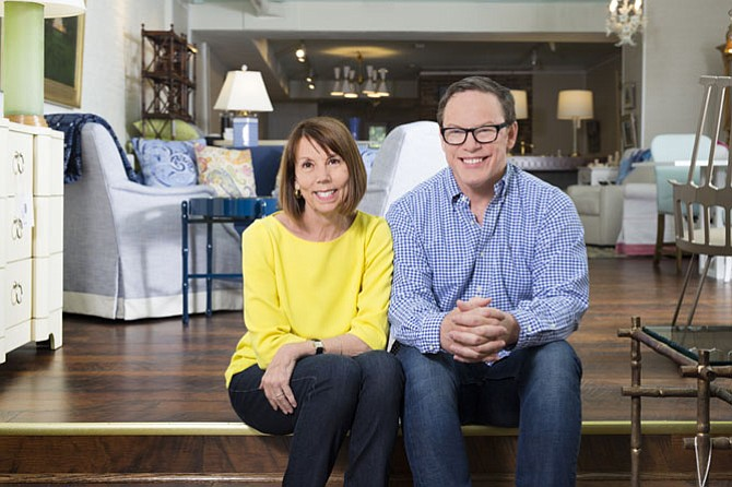 Interior designers Susan Nelson and Todd Martz opened Home on Cameron in Old Town Alexandria.