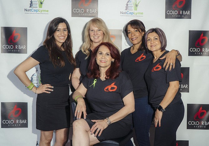 Colour Bar Studio in Vienna held its 3rd Annual Cut-A-Thon on April 30, raising $8,700 for Lyme disease research.