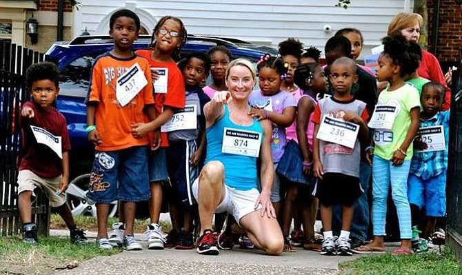 Brooke Curran uses running to raise funds for underserved children.