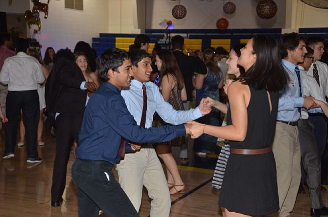 Each prom attendee's date to the dance was a Bullis student KEEN volunteer.