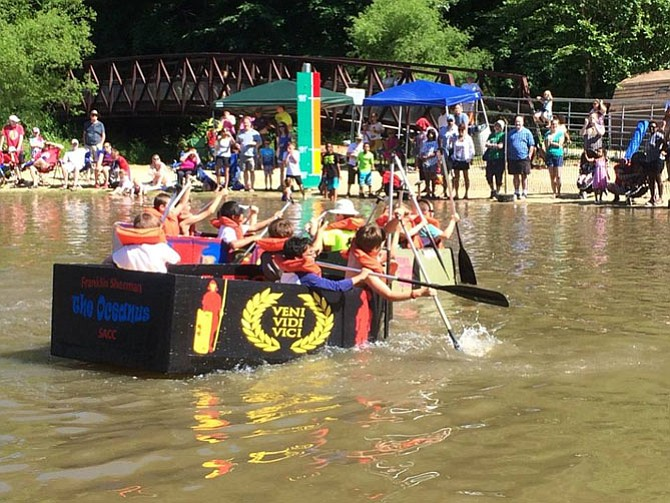 The weekend of June 3-4, it's Springfield Days, featuring a cardboard boat regatta at Lake Accotink. Visit www.springfielddays.com.