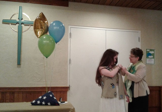 Apologise, but, Teen girl scout tops something