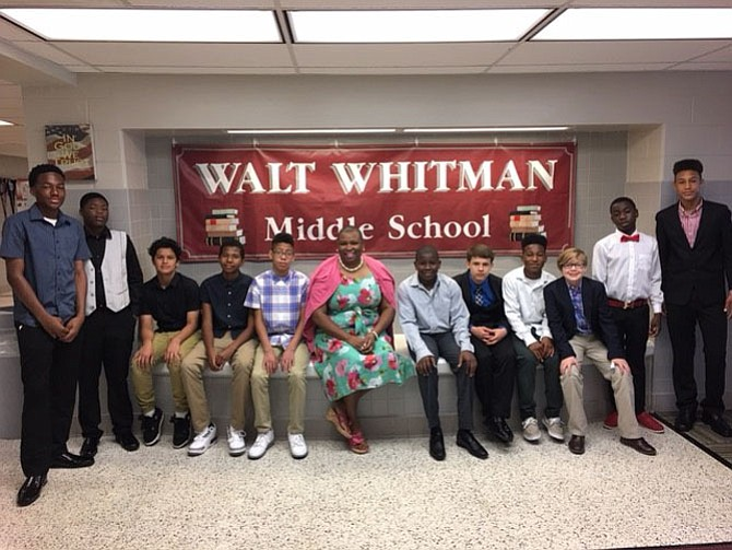 Twelve Walt Whitman Middle School students accompanied teacher Leslie K. Houston to a Future Leaders Forum on Saturday, May 20. At the forum they were exposed to the world of coding. They created their own video games through APP inventor. They learned leadership skills, goal setting and finance. At the end of the day, the students received a certificate of completion and a laptop to take home. The students included Khalid Williams, Mark Mejia, Robert Serrano, Kelvin Addo, Brenden Boswell, Jordan Malone, Jacob Murphy, Anderson Campos, Joseph London, Gerson Hernandez, Tyler Sembly, and Antron Campbell.