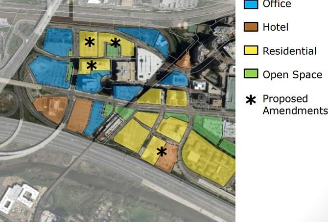 Land use zoning for Eisenhower East.