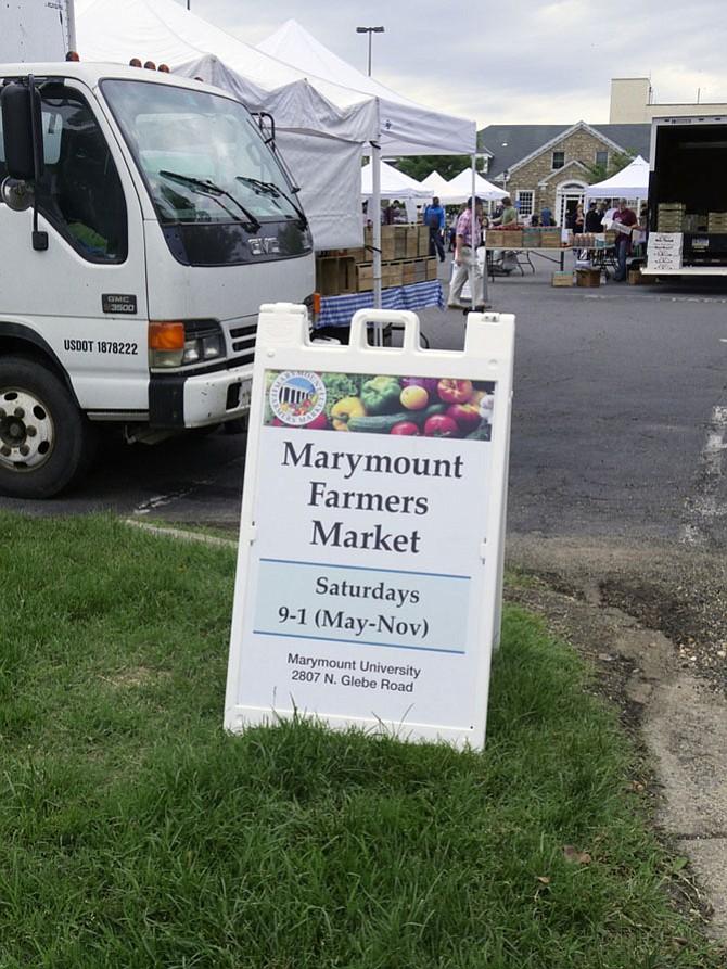 Marymount Farmer's Market opens May 27.