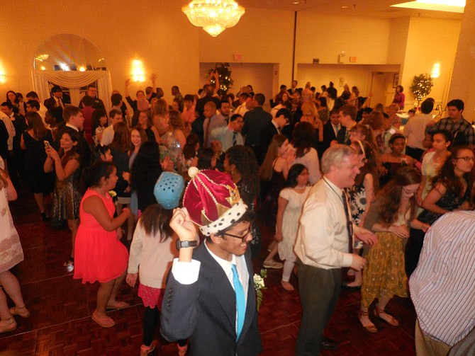 Students from nine high schools – Chantilly, Herndon, Lake Braddock, Lee, Oakton, Robinson, Stuart, Westfield and Woodson — take to the dance floor.
