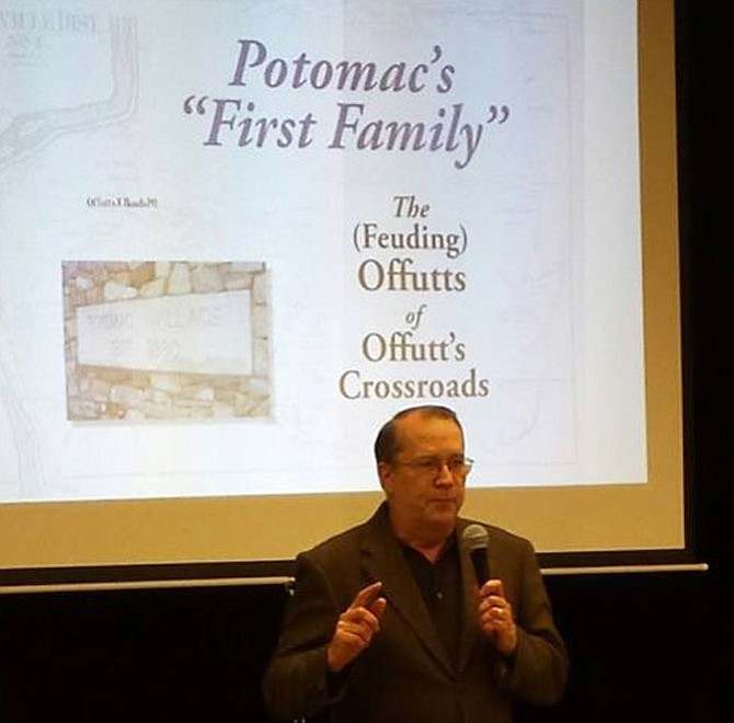 Ralph Buglass will discuss local history at the Potomac Library on Wednesday, June 7.