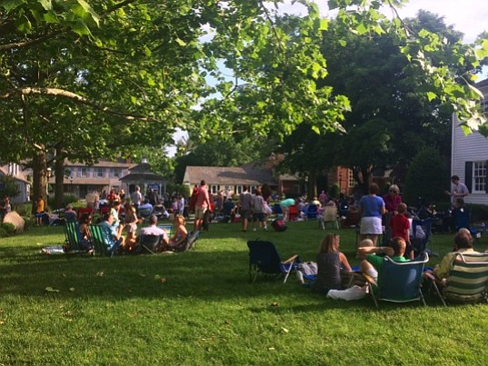 Mike Terpak Blues Explosion kicked off the summer series running from June 4 to Aug. 20 at the Great Falls Village Centre Green.