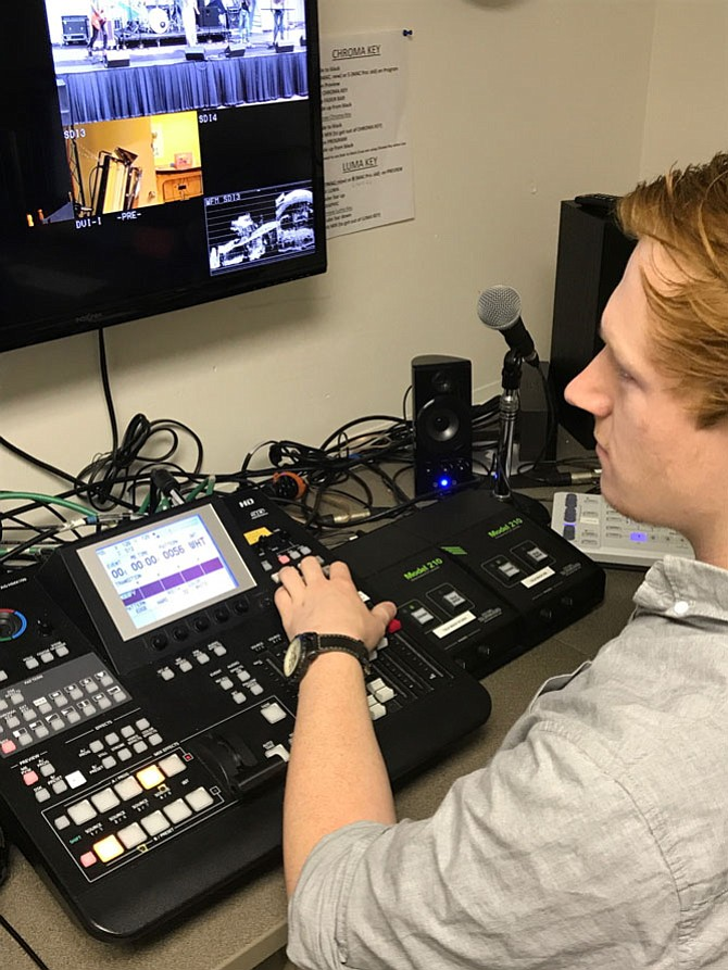 "Brian Rose, Herndon native and George Mason student produced the four-part feature film series ""Novacane."" Rose edited more than a terabyte of footage, which required three weeks of nonstop editing. Although a movie is shot in locations, it is built in the editing room."