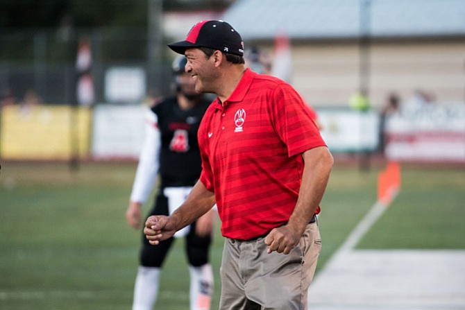 "Madison High School head football coach Lenny Schultz was killed in a traffic accident on the Beltway in the Springfield area. Madison principal said he was ""a man of integrity whose devotion to his students and the community served as an inspiration."""