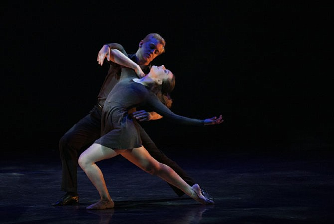 Sofiya Boroday performs a passionate My Funny Valentine pas de deux with Philip Smith-Cobbs, a graduate of Classical Ballet Theatre and a former professional dancer with Atlanta Ballet. The choreography by Lar Lubovitch highlighted Sofiya's artistry and expression, and it moved audience members to tears.