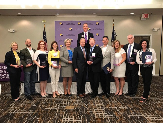 Awards for Chamber Excellence (ACE) recipients.