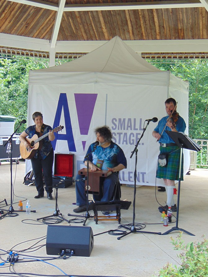 The band Ocean Quartet, which featured Celtic music for ancient moderns, performs on Sunday, July 2, at the free Summer Sunday Concerts in the Park in McLean.