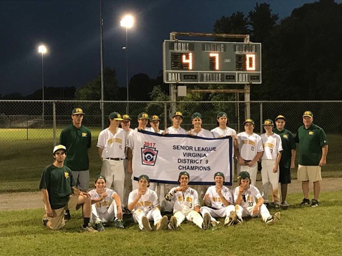 FHLL Seniors — District 9 Champions