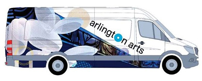 Concept rendering for the Art Truck.