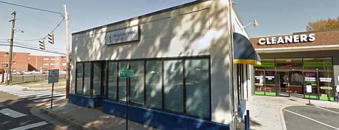 The Neighborhood Health Center at 2 East Glebe Road.