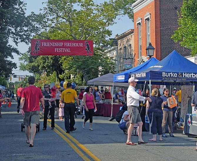 The annual Friendship Firehouse Festival will take place August 5 in the 100 block of S. Alfred Street.