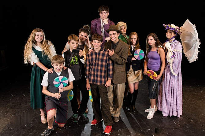 The cast of Willy Wonka will be on stage July 28-30 at Herndon High School Auditorium, 700 Bennett St. Summer Grand cast presents play and tour of the chocolate factory. $12, tour is $3. Visit www.herndondrama.org for more.