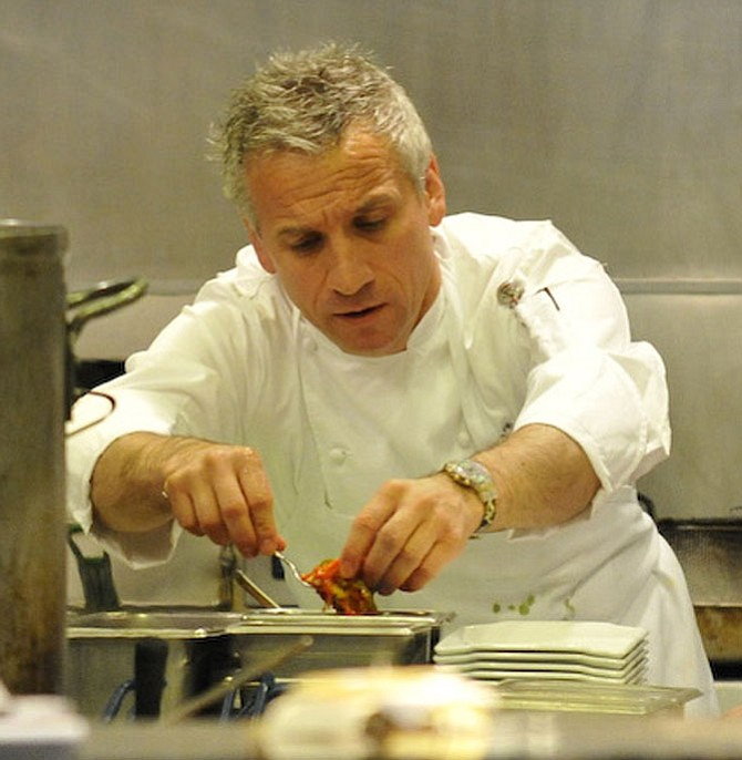 """Domenico Cornacchia, the chef driving the menus at the restaurant and pizzeria, described his cooking style as a mixture of traditional bases with """"a lot of creativity, but also a lot of respect for ingredients as well."""""""